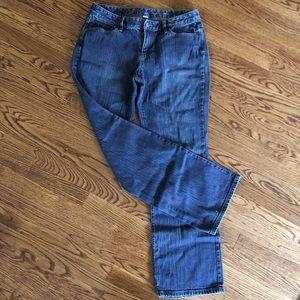 Loft Women's Curvy Boot Jeans